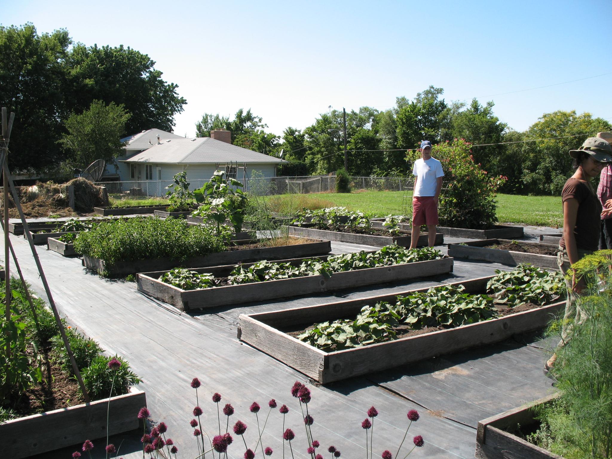 Kansas City Urban Farms And Gardens Tour Community