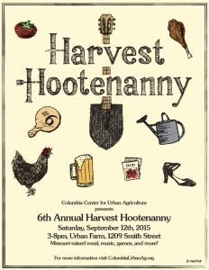 6th Annual CCUA Harvest Hootenanny