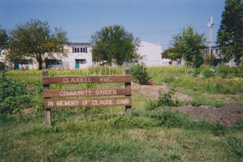 Claudell Lane Garden 2001