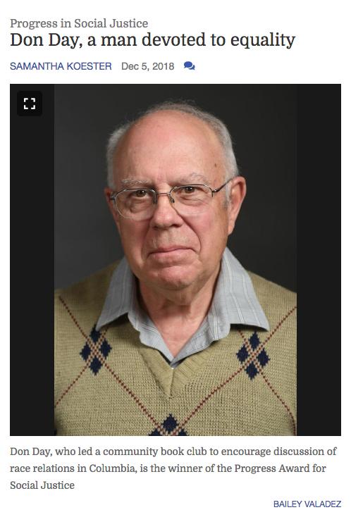 Don Day Missourian Progress Award article